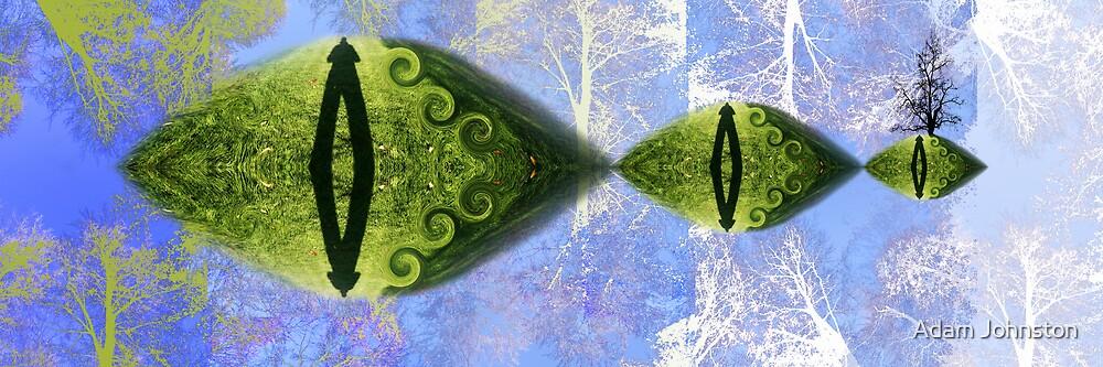 Green dreams by Adam Johnston