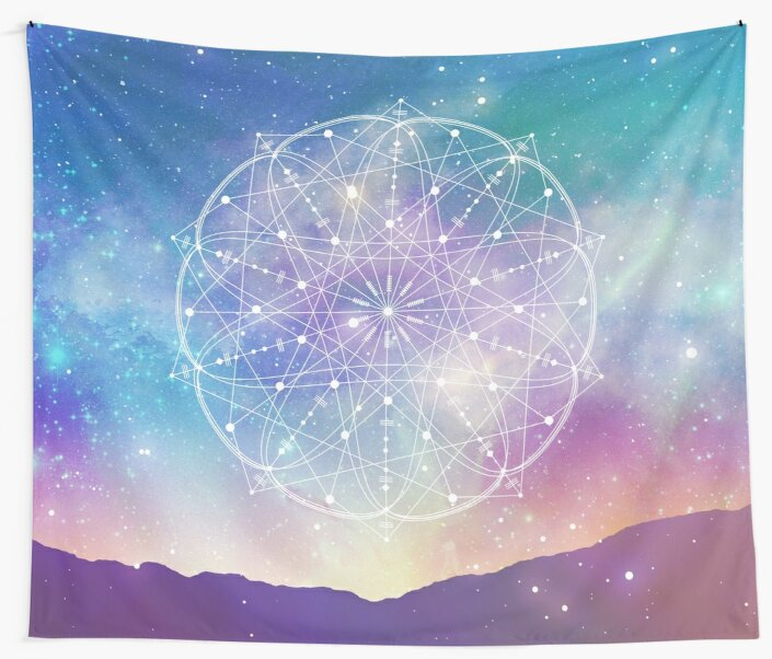 Sacred Geometry (Interconnected) by PatternsofLife