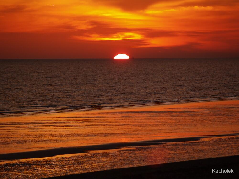 sunset by Kacholek