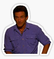 Jeff Probst in Shock Sticker