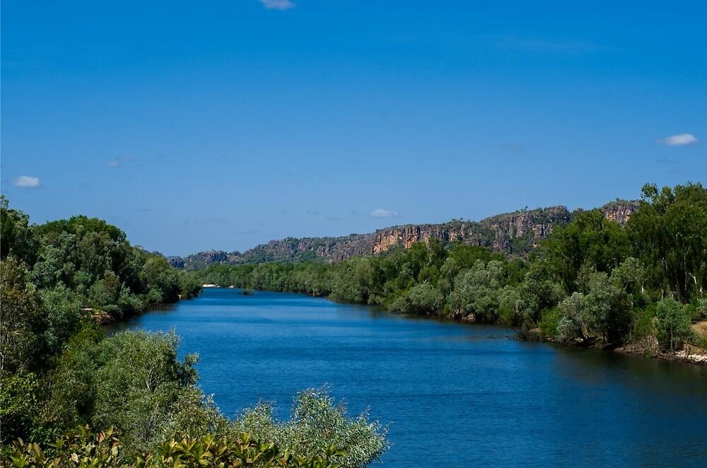 East Alligator River - Arnhem Land - Kakadu National Park by David Blackwell