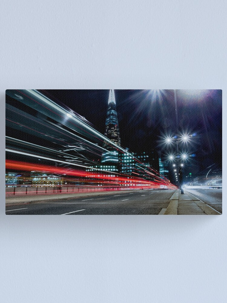 Alternate view of Shard Of Light Canvas Print