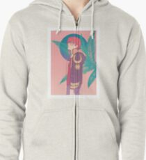 cruel world Zipped Hoodie