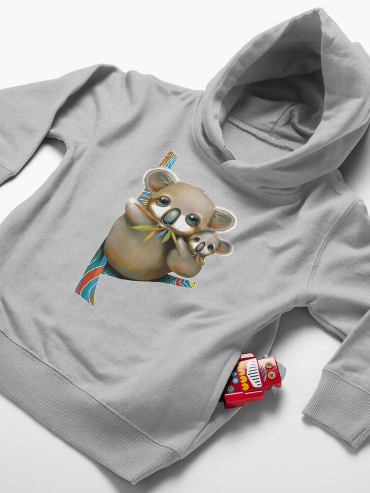 Alternate view of Koalas Toddler Pullover Hoodie
