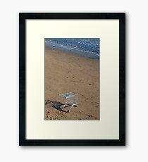 A bid for freedom Framed Print