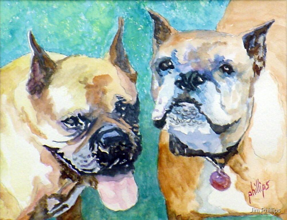 Bojo and Tazmo by Jim Phillips