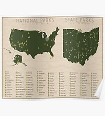 US National Parks - Ohio Poster