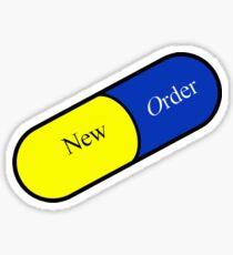 Joy Division New Order Shirt Fine Time Sticker