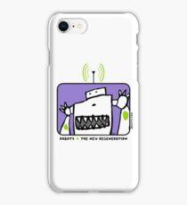 Robots The New Regeneration Comic Design - Purple iPhone Case/Skin