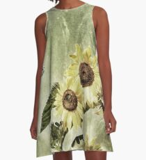 Penticton Sunflowers A-Line Dress