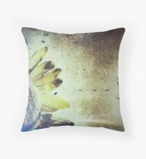 Penticton Sunflower Throw Pillow