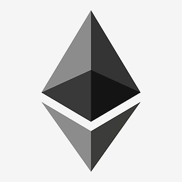 The Ethereum logo by thuggers