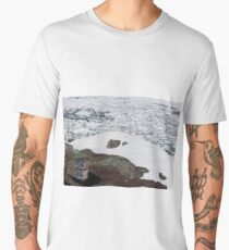 Middle Cove: Iceberg Season. Men's Premium T-Shirt