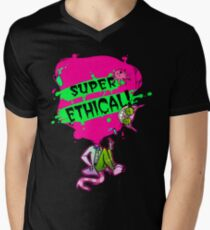 Professor Genki SUPER ETHICAL Men's V-Neck T-Shirt