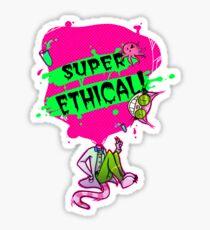 Professor Genki SUPER ETHICAL Sticker