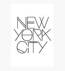 NYC Photographic Print