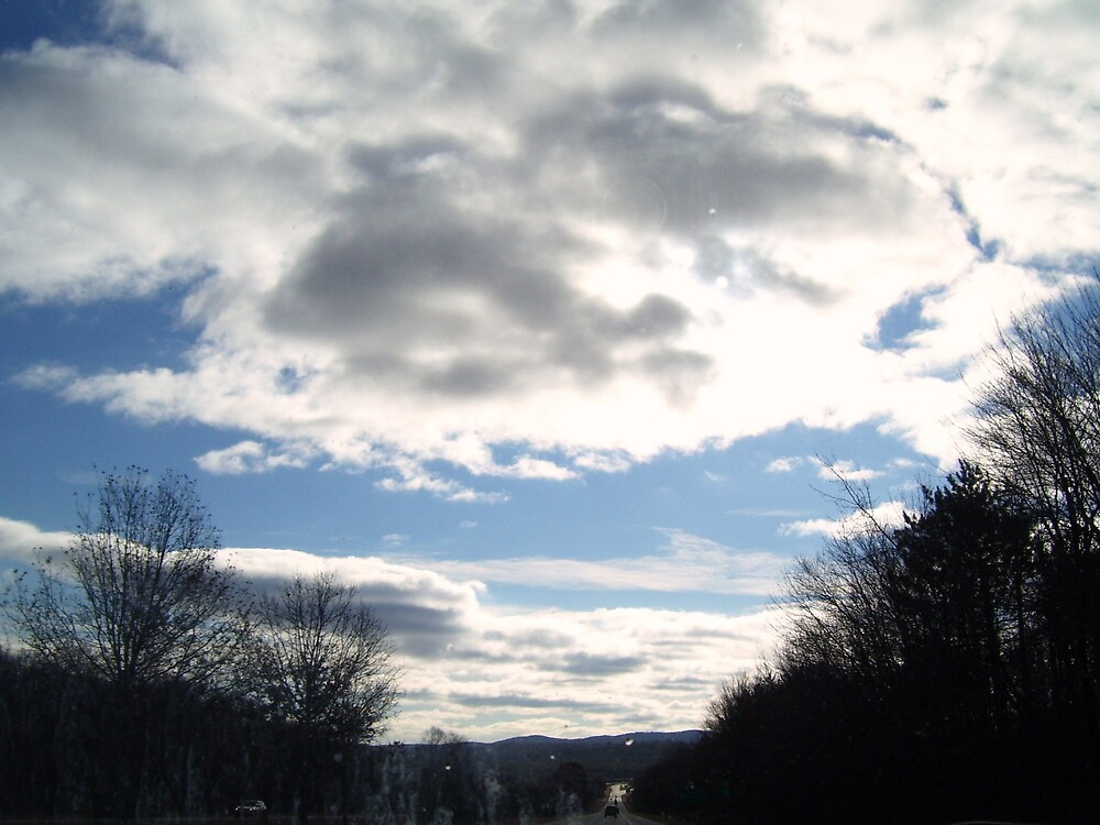 Mountain Sky by CynthiaCat