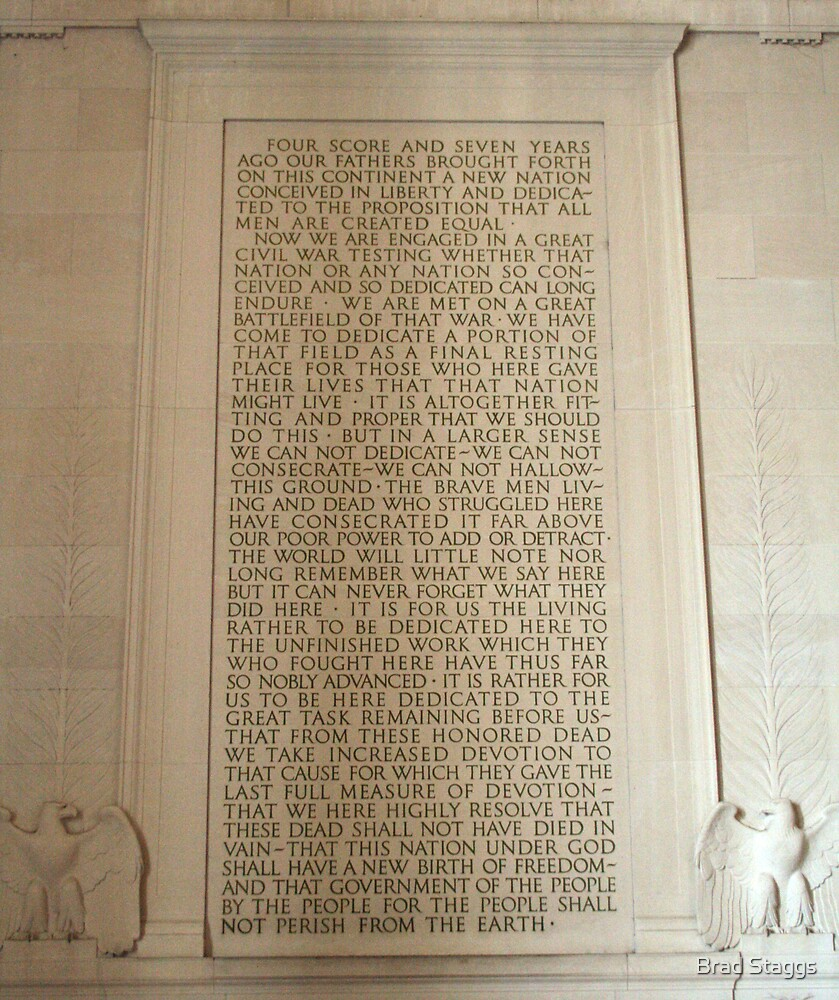 Lincoln Memorial 3 by Brad Staggs