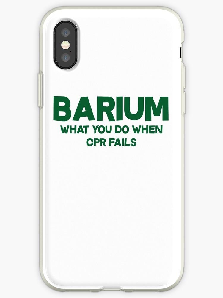 Barium What you do when CPR fails by SlubberBub