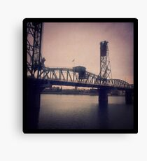 Steel Bridge, Portland Canvas Print