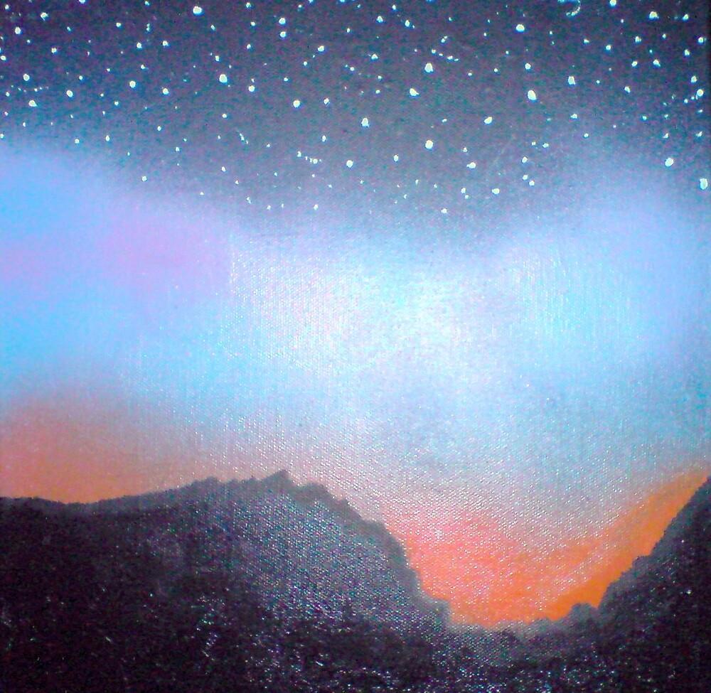 northern lights by John Smillie