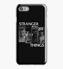 Stranger Things All Characters iPhone Case/Skin