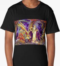 T-shirt Astrology Wise telescope tee colored art Long T-Shirt