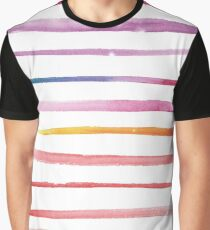 watercolor rainbow kind of mood - 2 Graphic T-Shirt