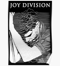 unknown pleasures (Joy division ian curtis) Poster