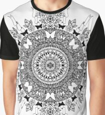 Butterfly Hearts Graphic T-Shirt