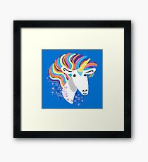 completely love this unicorn Framed Print