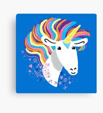 completely love this unicorn Canvas Print