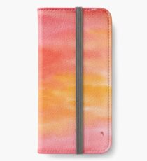 watercolor fire  iPhone Wallet/Case/Skin