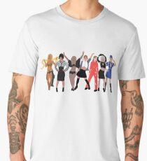 Pop Princess Evolution  Men's Premium T-Shirt