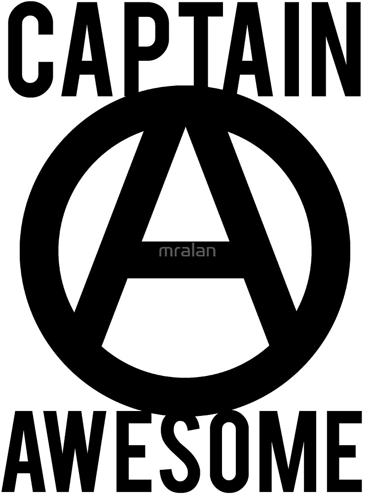 Captain Awesome Funny by mralan
