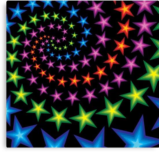 vivid star spirals by VioDeSign