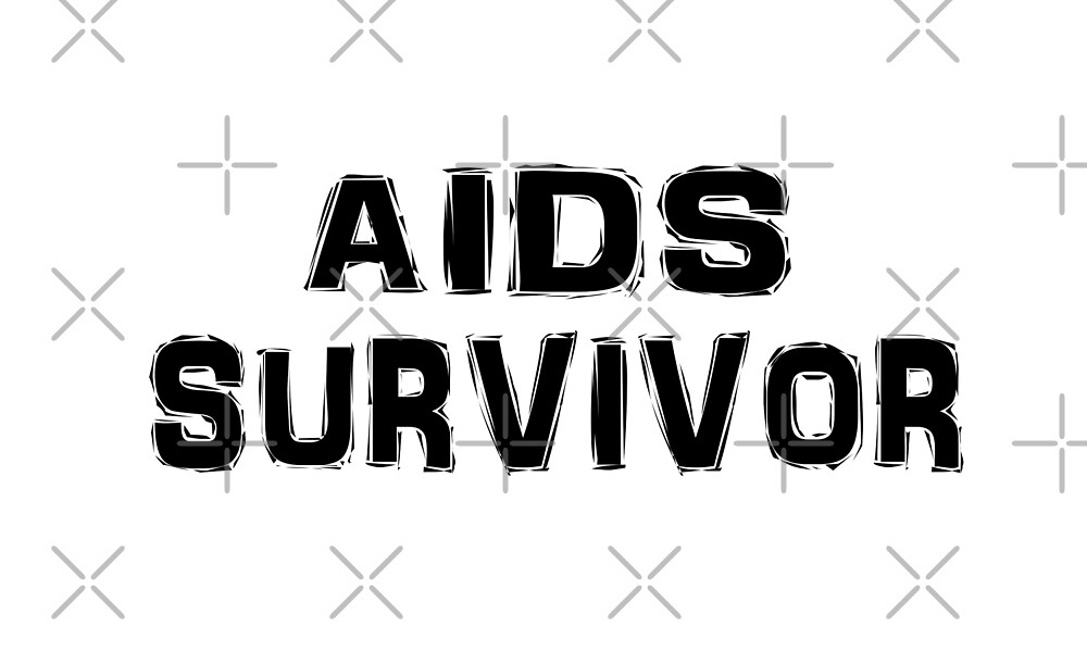 AIDS HIV Survivor T Shirt by greatshirts