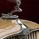 1931 Auburn Hood Ornament by dlhedberg