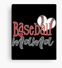 Baseball Mama Canvas Print