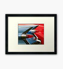 Cadillac Taillights Framed Print