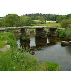 Clapper Bridge_Postbridge_Dartmoor_England by Kay Cunningham
