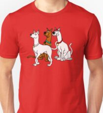 Scooby Doo, Scooby Dee and Scooby Dum Unisex T-Shirt