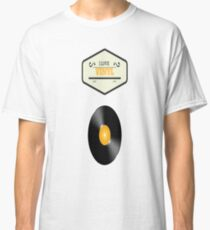 I Love Vinyl Classic T-Shirt