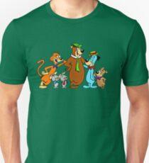 Yogi Bear, Boo Boo, Mr Jinx, Pixie and Dixie and Huckleberry Hound T-Shirt