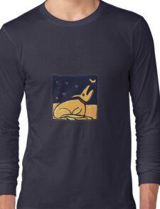 DOG MOON ART  Long Sleeve T-Shirt