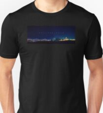Philadelphia at night.  Unisex T-Shirt