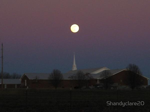 Church Moon by Shandyclare20