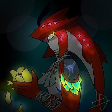 Glowing Prince Sidon by rad-fish