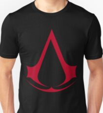 Assassin's Creed Red Logo Unisex T-Shirt