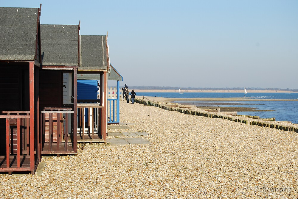 Beach huts by Ticklemepink